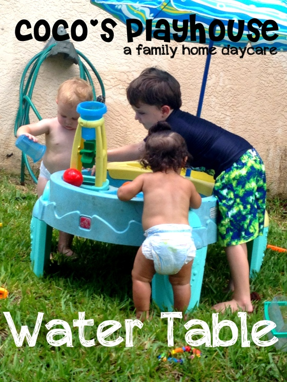 water table blog