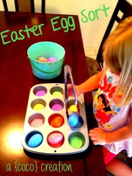 Easter Egg Sort blog 1