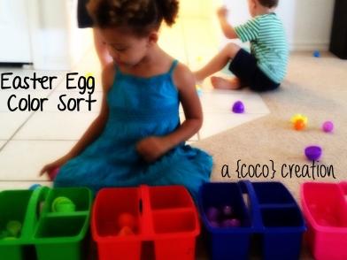 Easter Egg Sort Blog