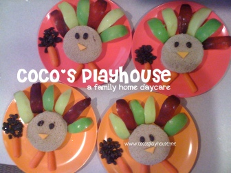 Turkey Feast {CoCo's Playhouse} www.cocosplayhouse.me